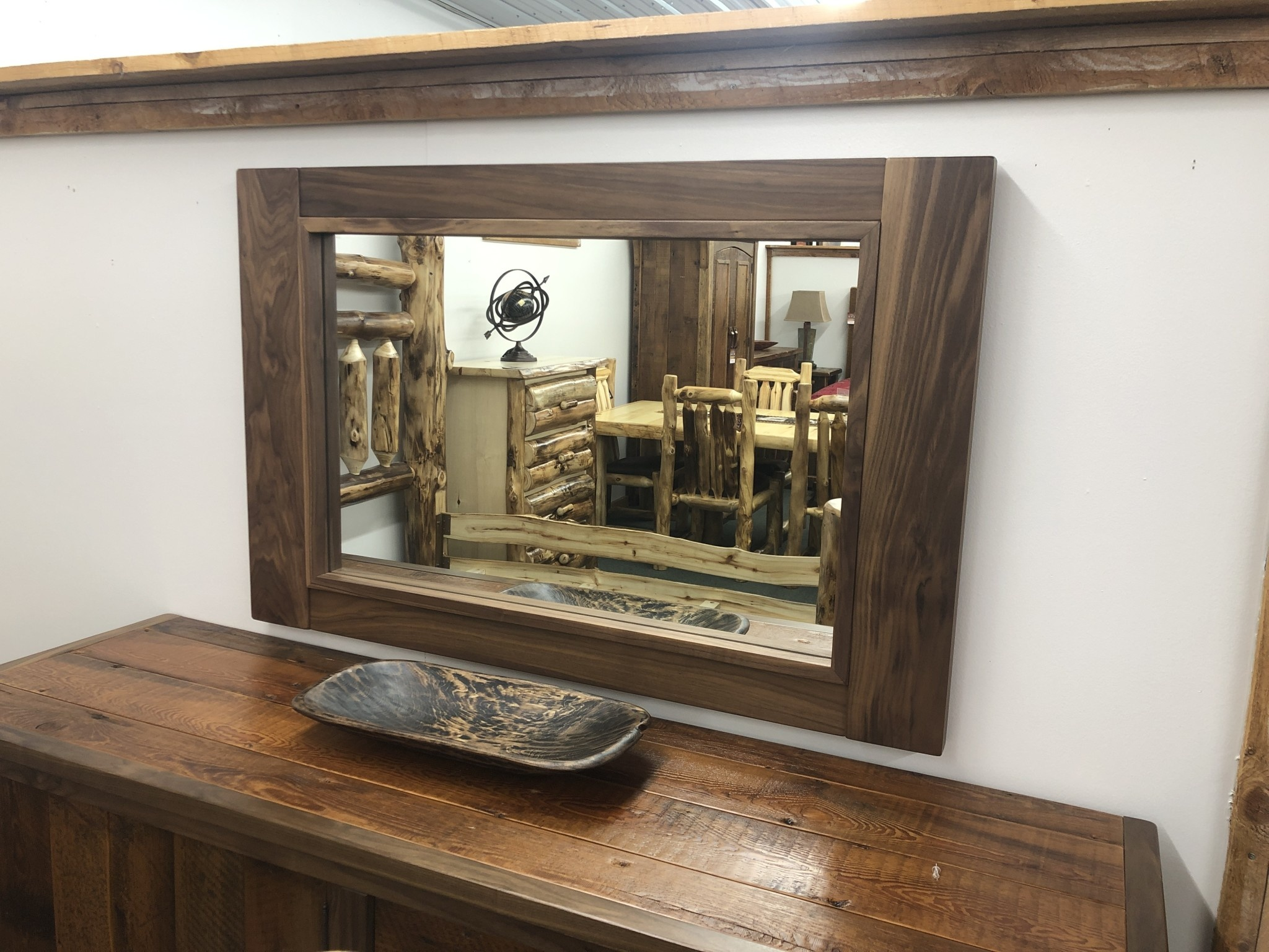Green Gables Hillsboro Walnut Mirror 30x46x2