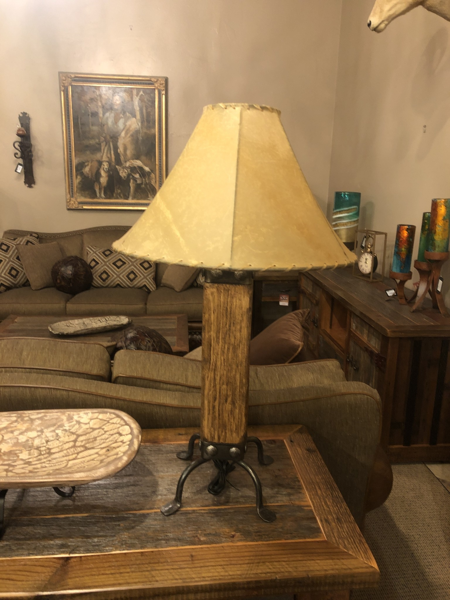 Mexican Country The Hacienda Table Lamp (Light)