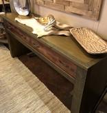 Green Gables Berkeley 2 Dwr Sofa Table 33H x 72W x 20D