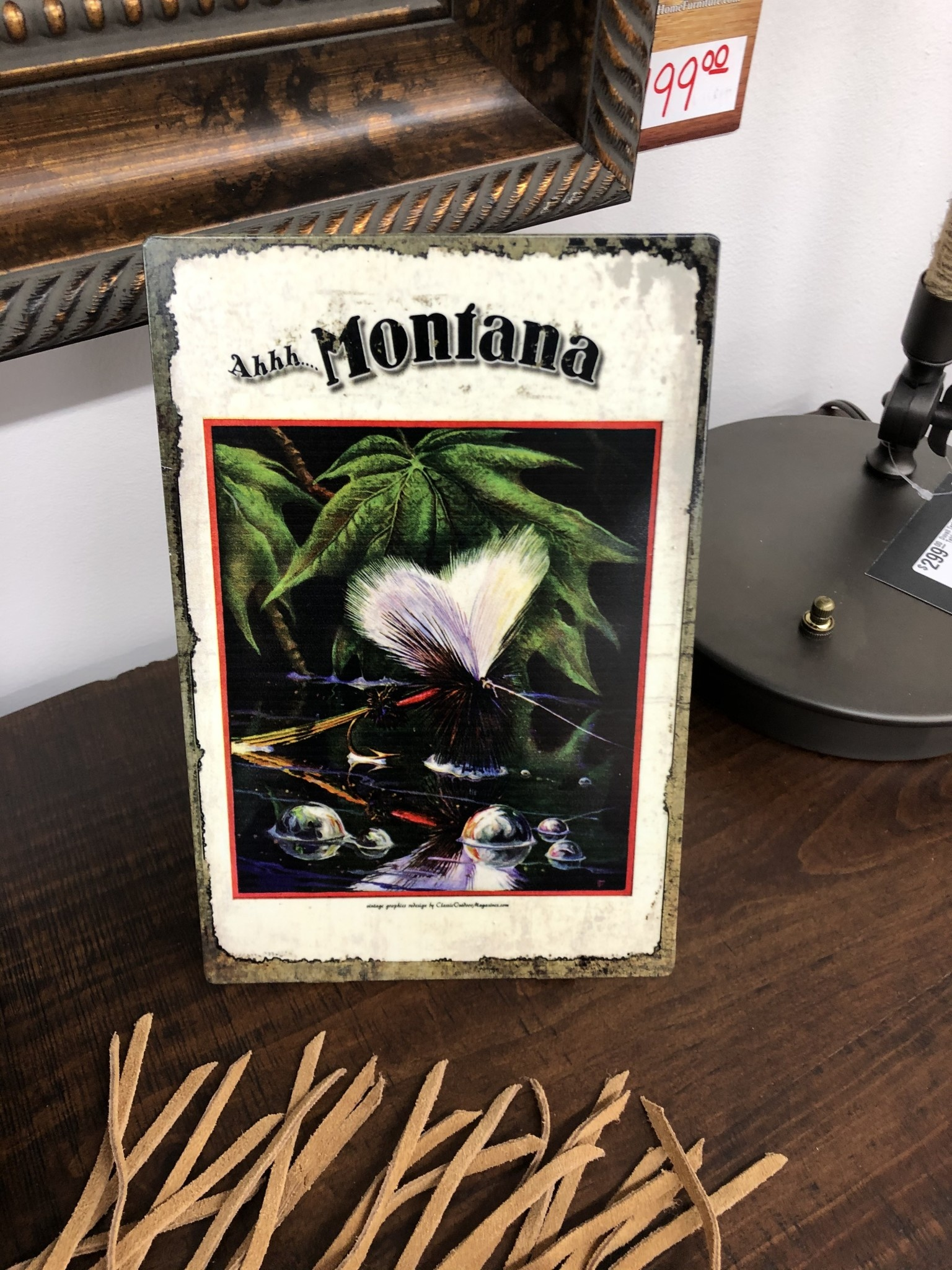 Classic Outdoor Magazines #2 Montana Fly Table Topper