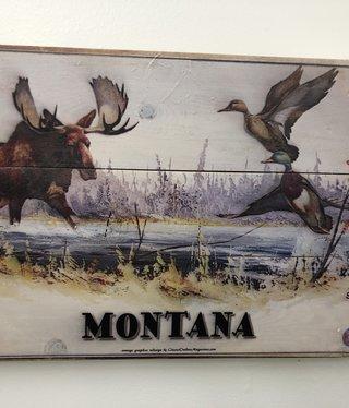 Classic Outdoor Magazines #12  Sweeney Moose 14x20 wood sign