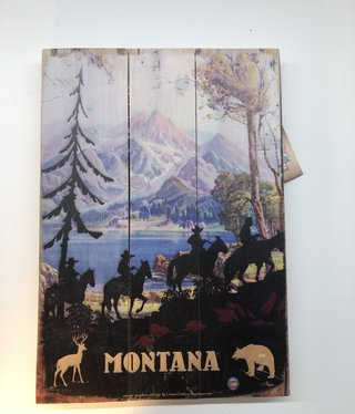 Classic Outdoor Magazines #24  Shadow Riders 14x20 wood sign