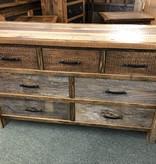 Green Gables Copperhead 7 Drawer Dresser 36H x 60W x 20D
