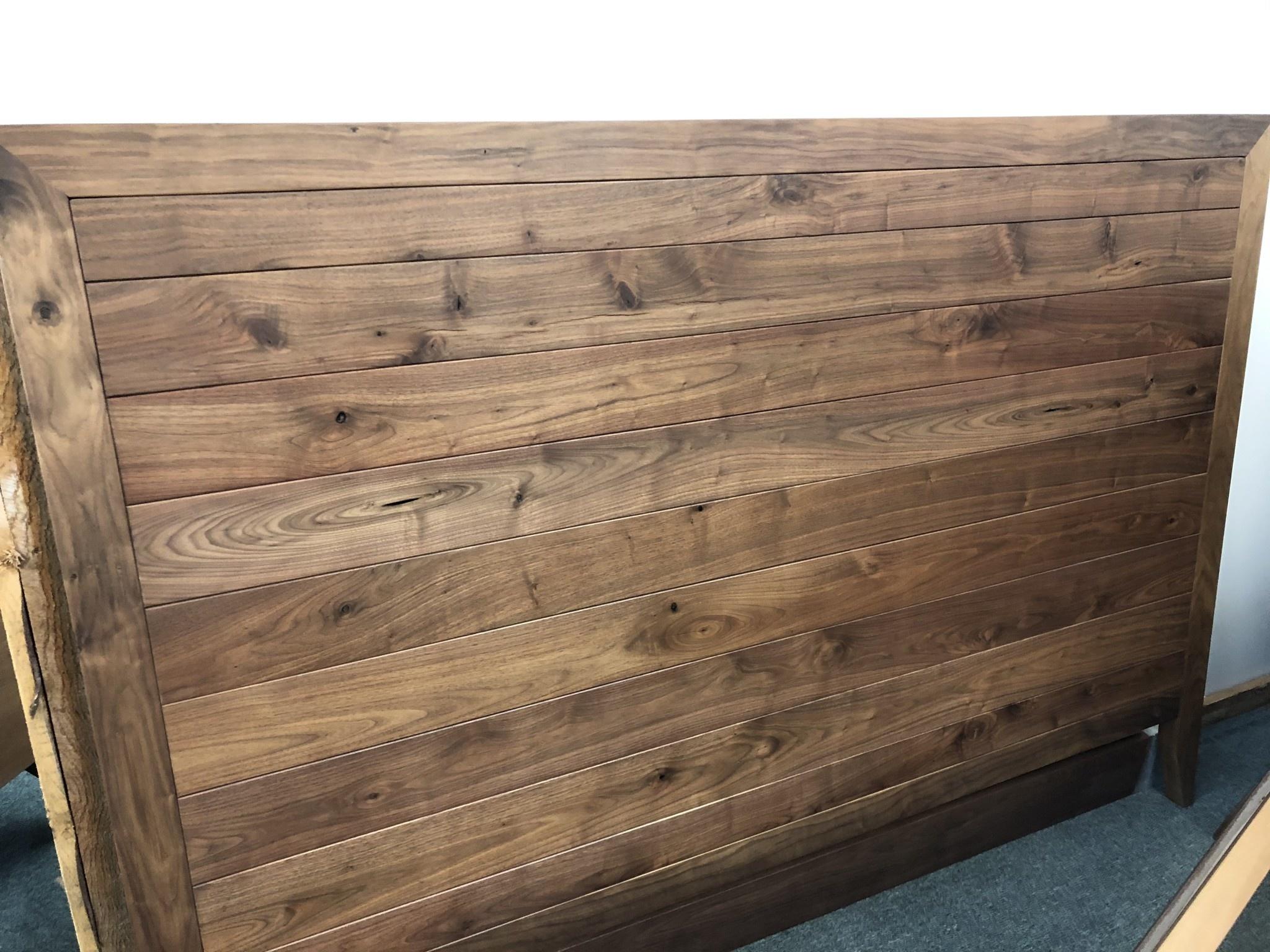 Green Gables Denver King Bed-Walnut