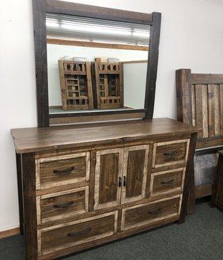 IFD 260-6 Drawer Veracruz Dresser  61.5x19.25x38.5