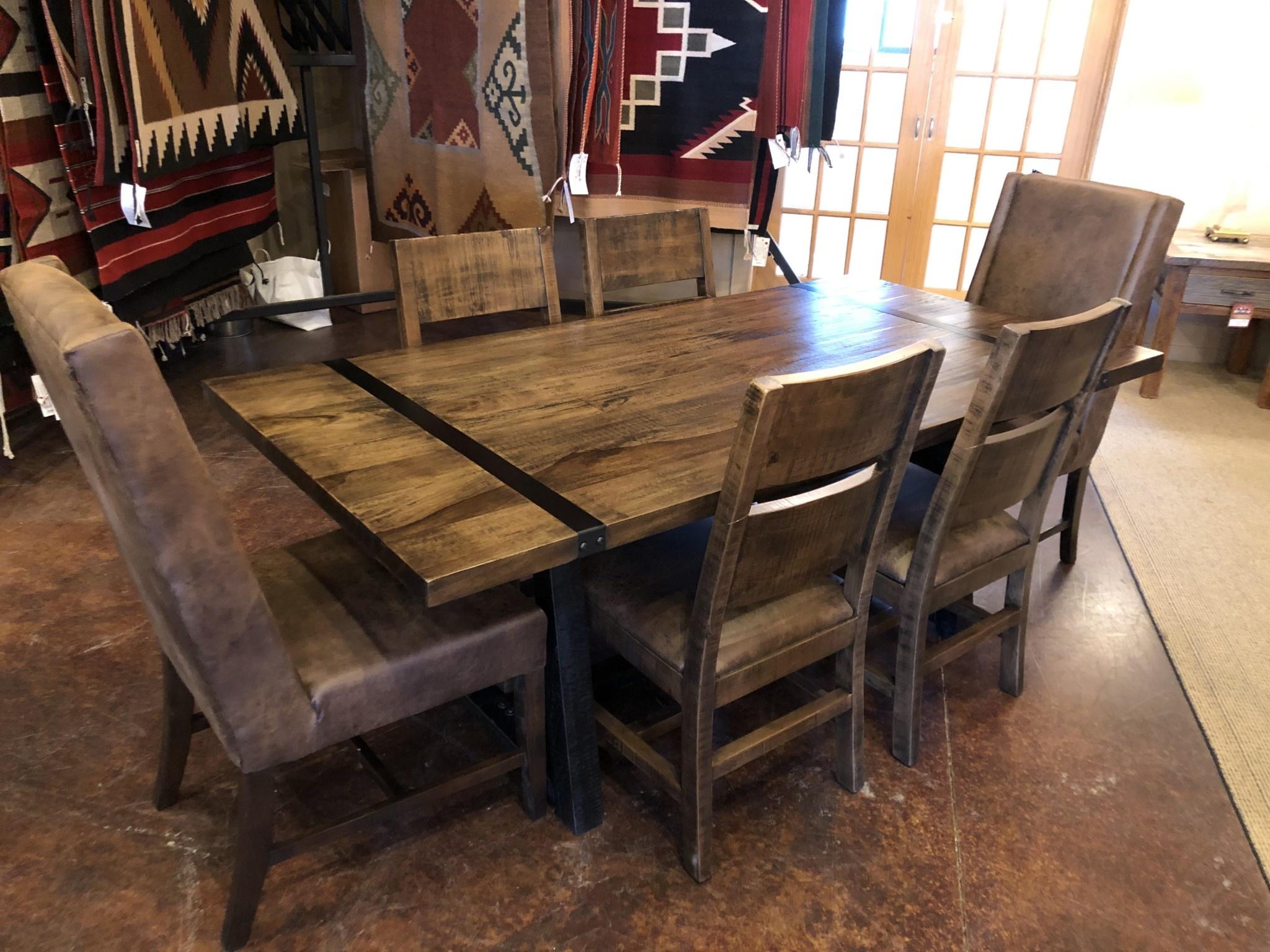 IFD 5201 Urban Art Dining Table 78 x 39 x 30