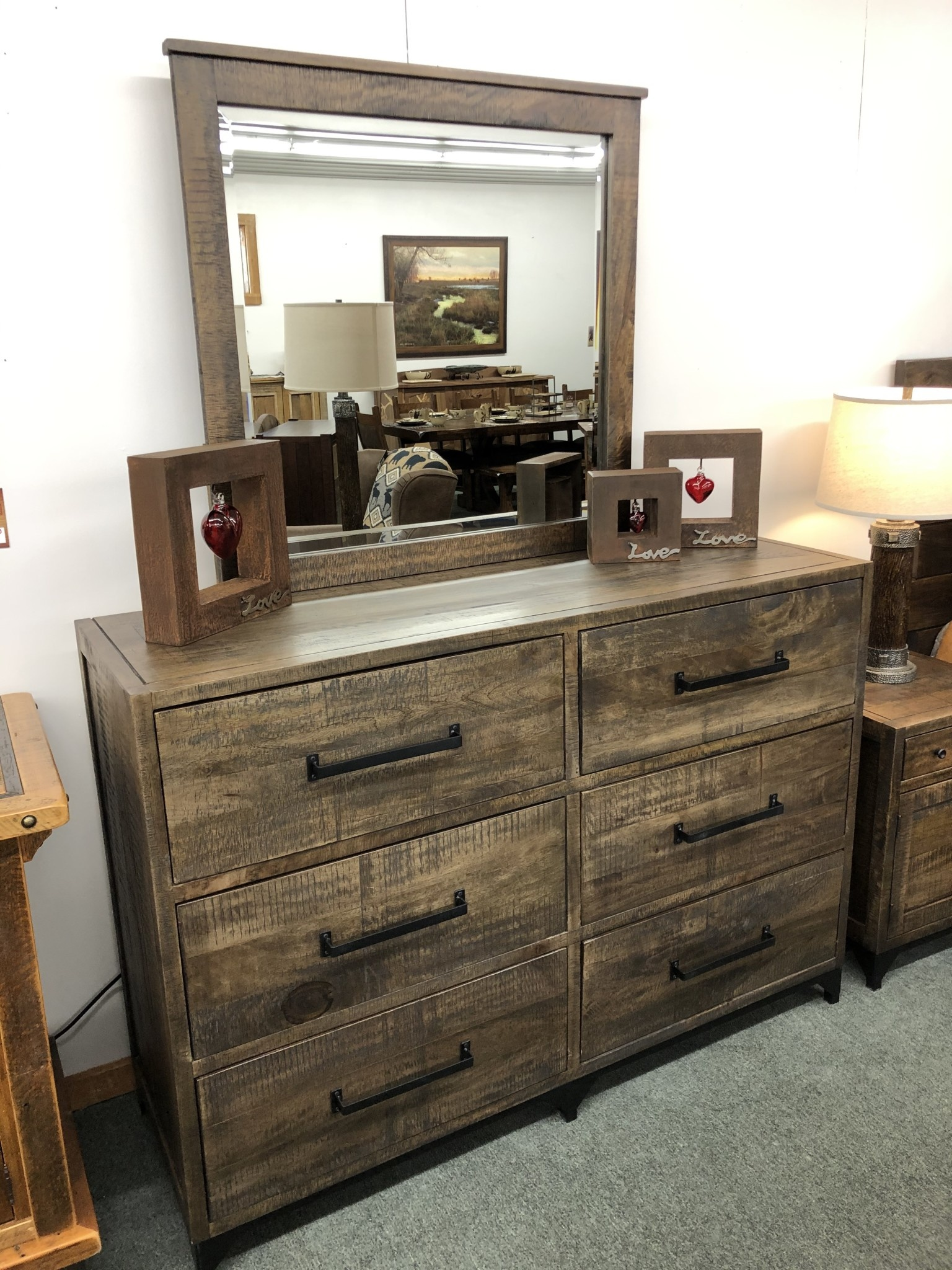 IFD 5201- 6 Drawer Dresser