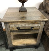IFD 6441 Loft End Table 23x23x26