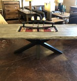 Moes Edge Dining Table Large