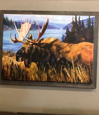 TAC Moose at the Lake