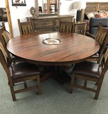 "Co-ALBC 72"" Round Pedestal Dining Table"