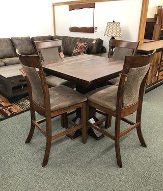 Co-ALBC Barn Wood Pub Table
