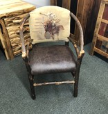 Co-ALBC Hickory Hoop Chair