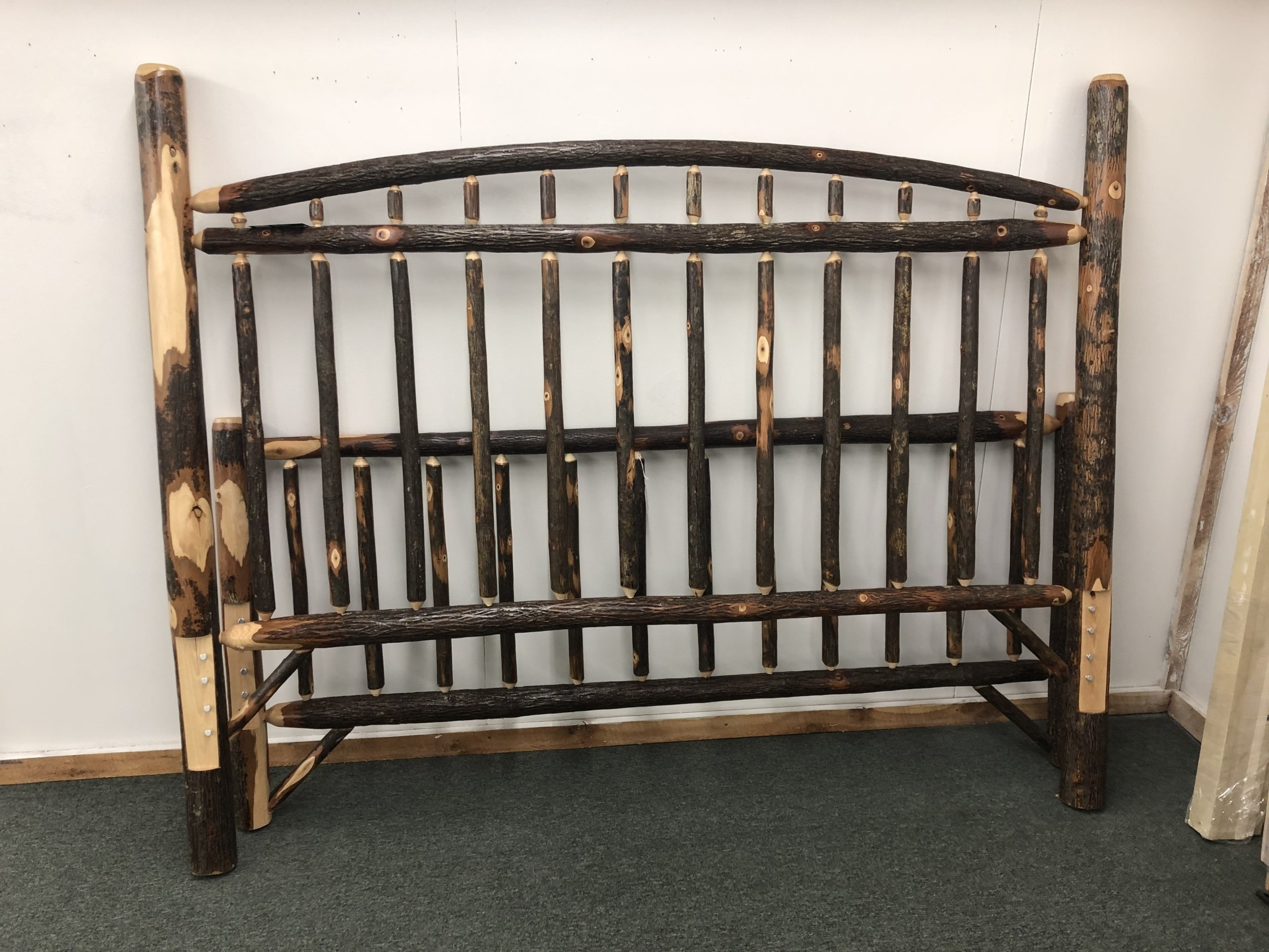 Co-ALBC Hickory King Bed