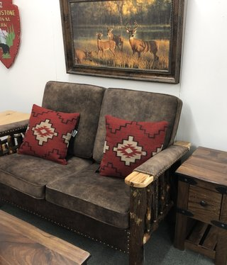 Co-ALBC Hickory Loveseat
