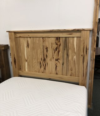 Co-ALBC Hickory Peeled Queen Headboard