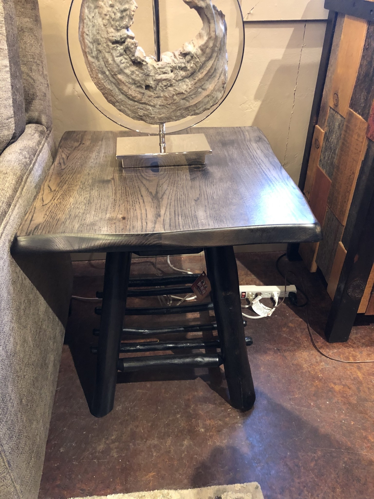 Co-ALBC Hickory End Table