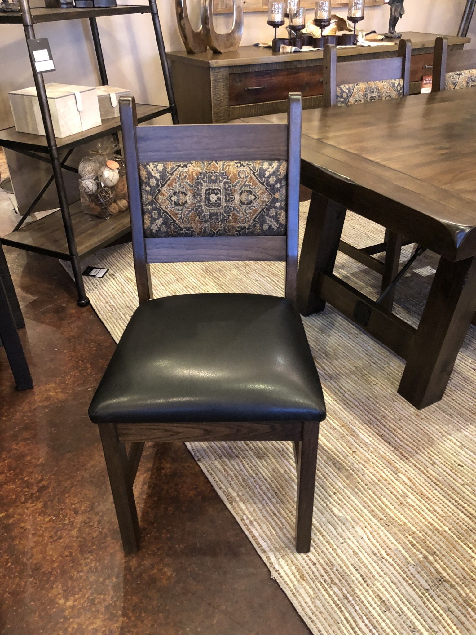 Co-ALBC Upholstered Hickory Chair