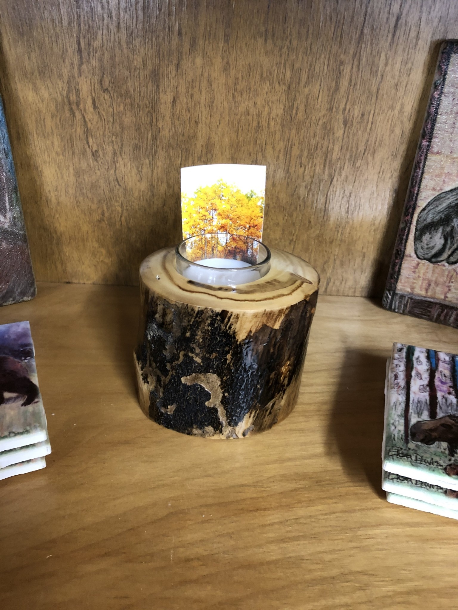 Don Noble Aspen Votive Candle Holder