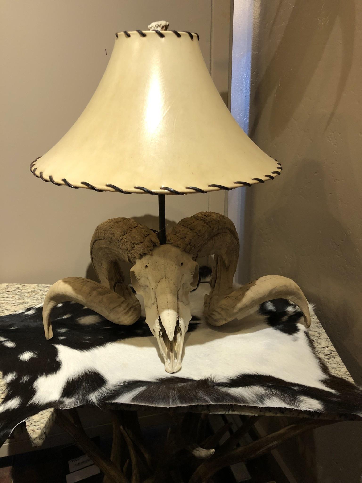 Fish Corsican Ram Lamp