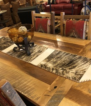 Gaucho Large Cowhide Table Runner