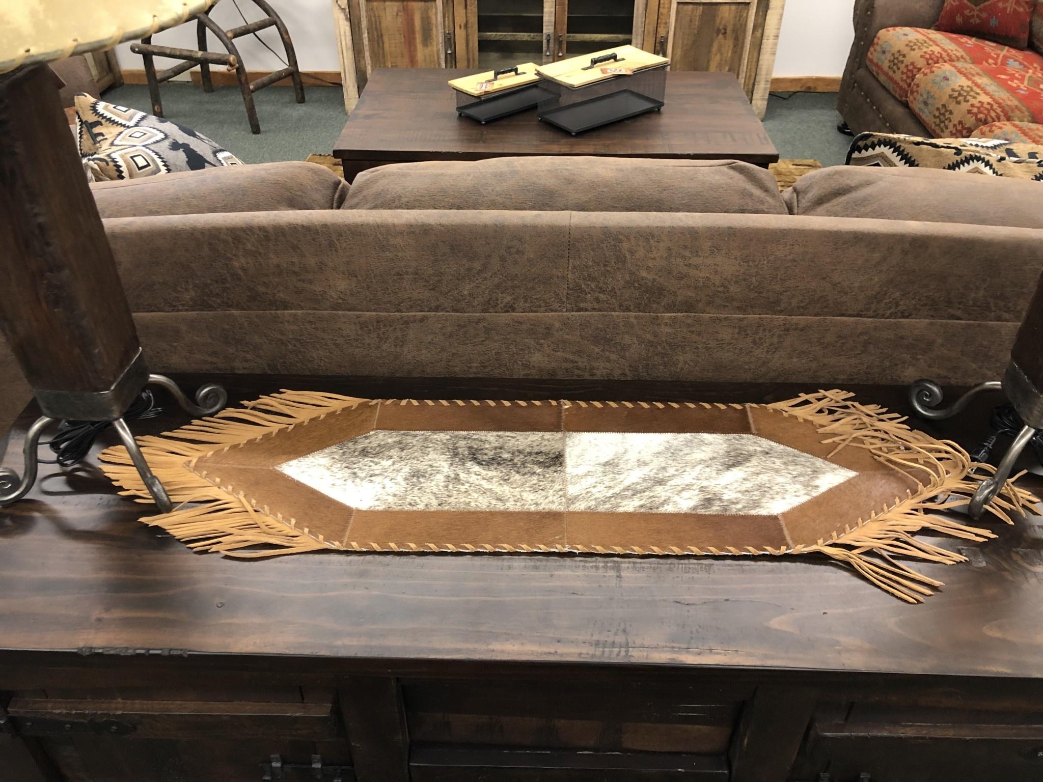 Gaucho Small Cowhide Table Runner Big Bear Furniture