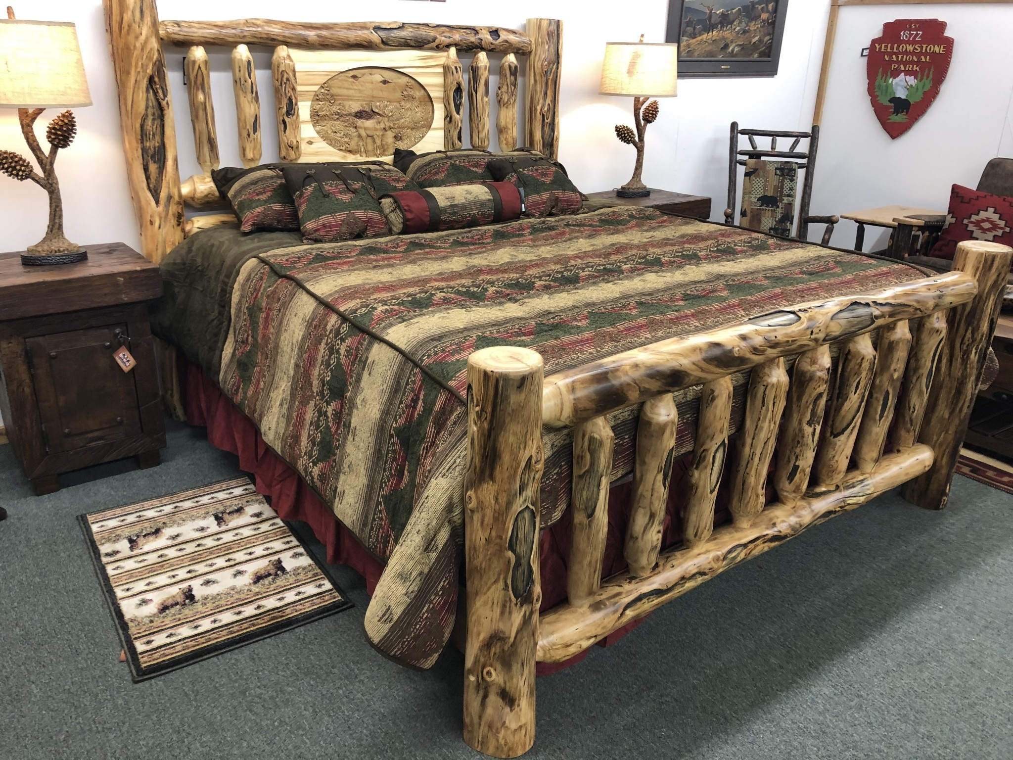 Hiend Sierra Comforter Set Queen 7 pc