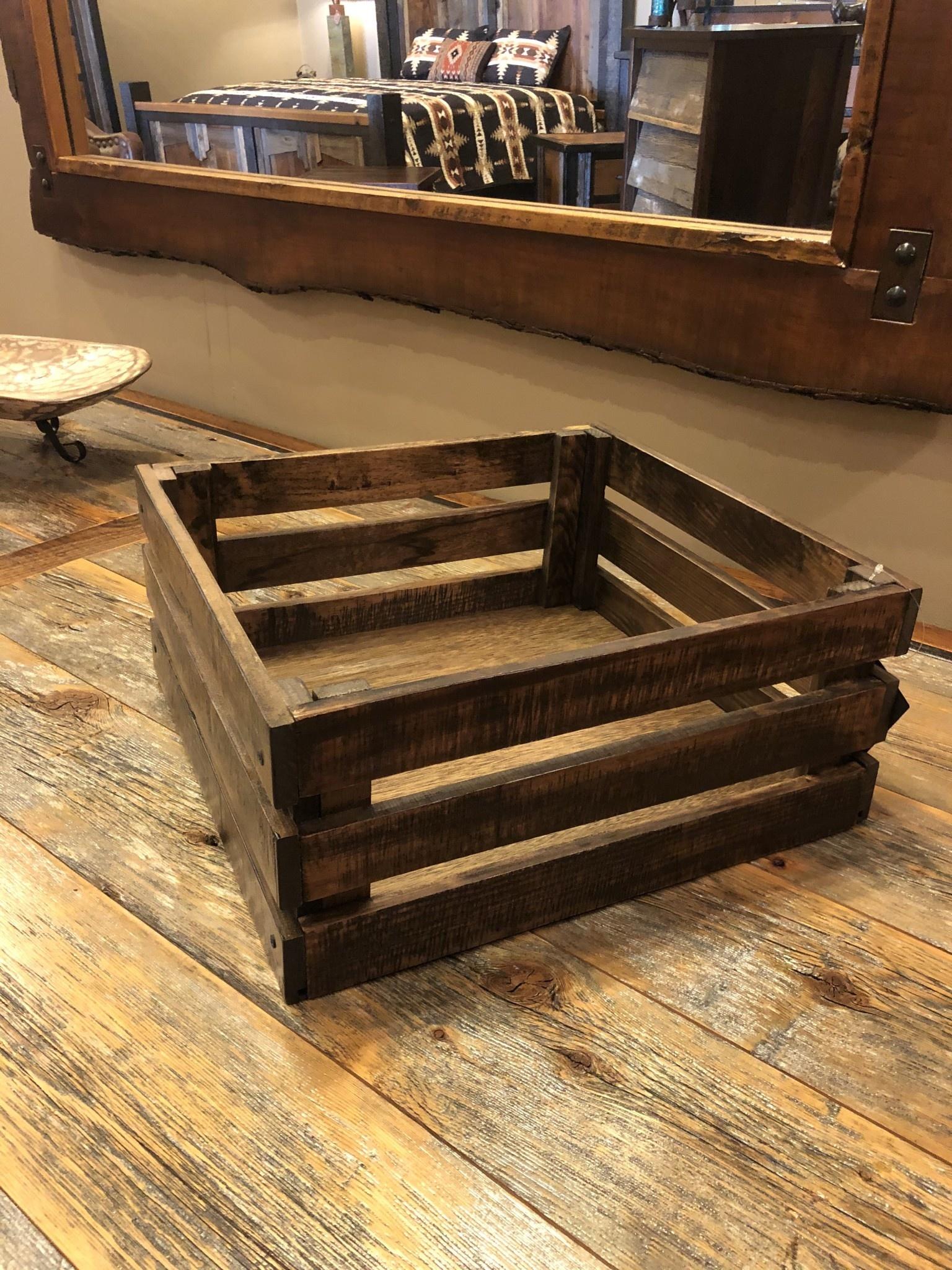 IFD 7861- Wood Crate***D***