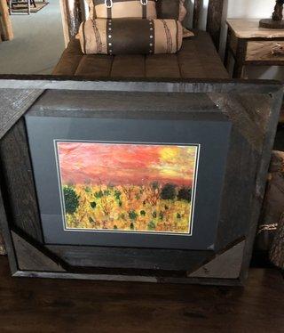 "James Larson ""Arizona Heat"" Original Acrylic Art 27x23"