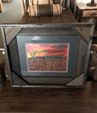 "James Larson ""Late Evening"" Original Acrylic Art 27x23"