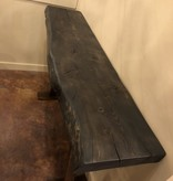 "Juliann Iron Originals 60"" Live Edge Sofa Table"
