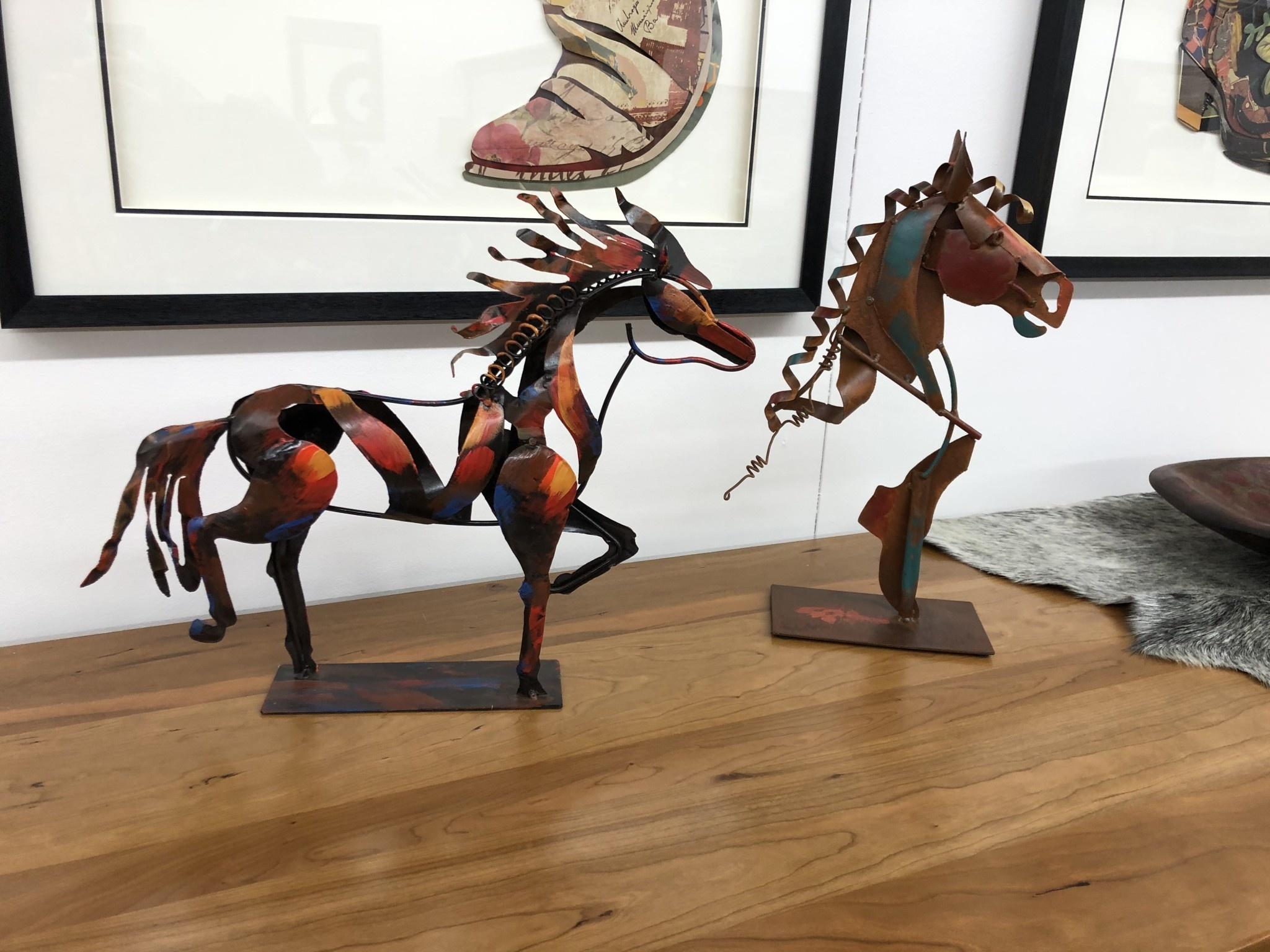Simpkins-Canterbury Lane Metal Horse