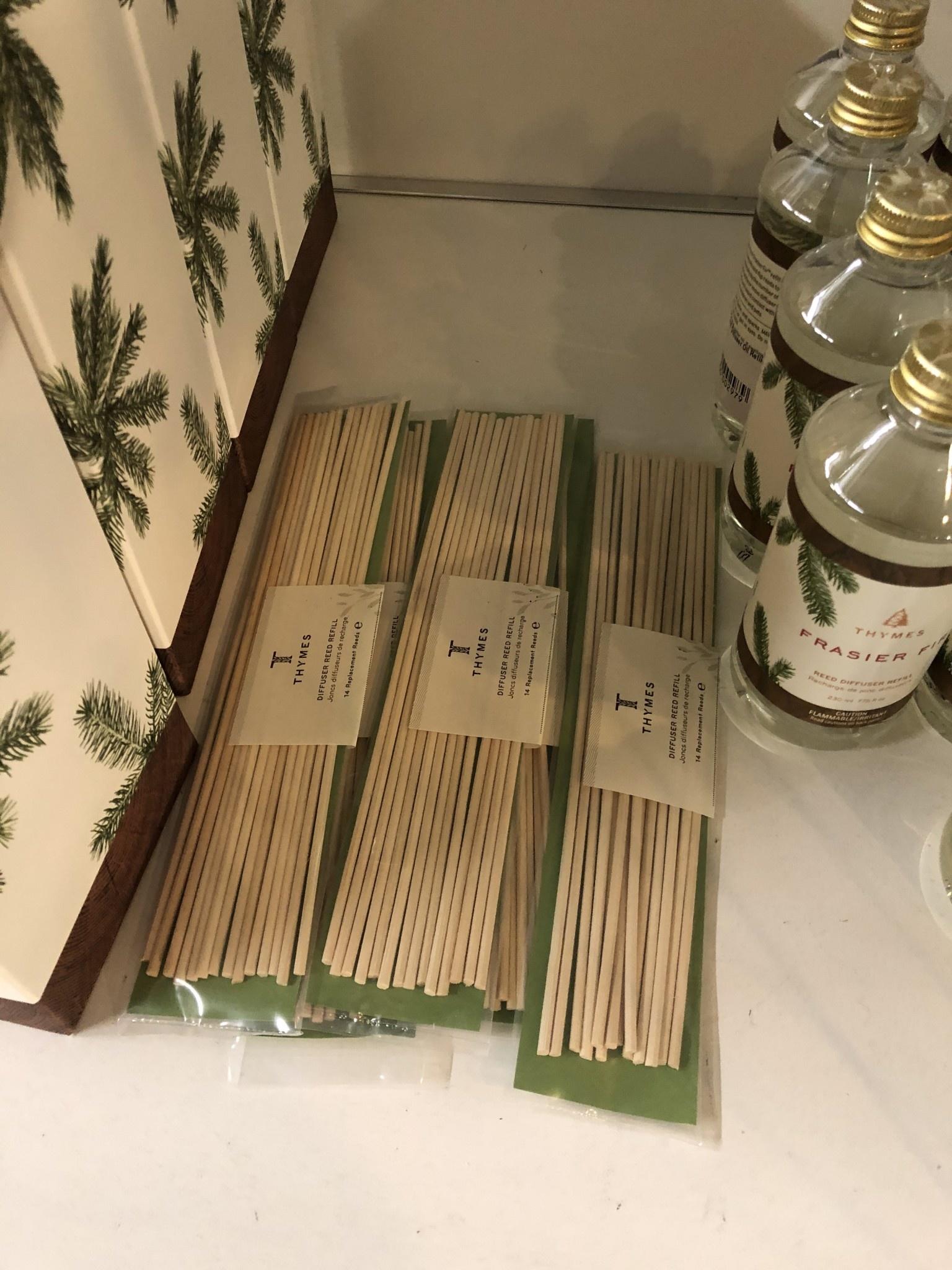 Frasier Fir Unscented Reed Refill/Natural