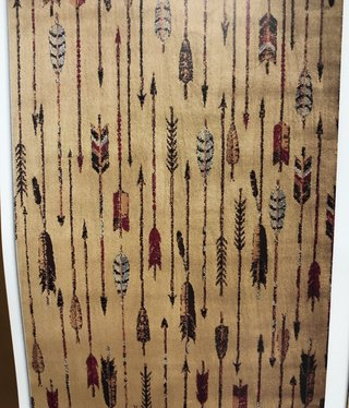 """United Weavers Affinity Quilted Arrows Rug   5'3"""" x 7'2"""""""