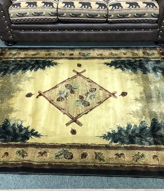 "United Weavers Genesis Forest Trail Rug 5'3"" x 7'6"""