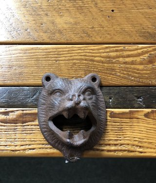Upper Deck Bear Bottle Opener  4111