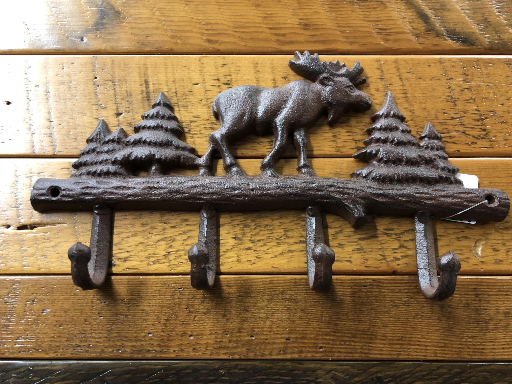 Upper Deck 1563   Moose Key Rack