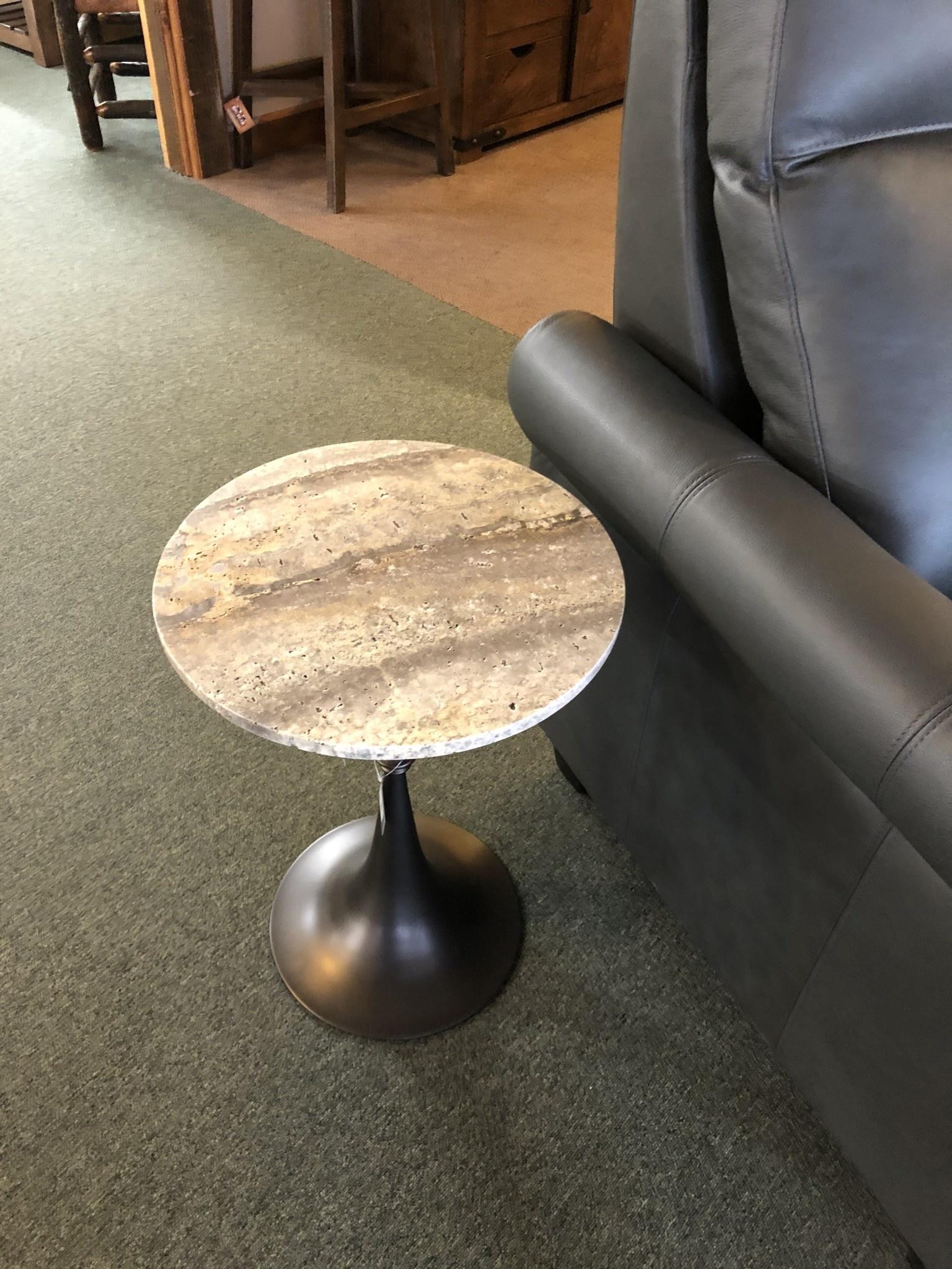 Uttermost Brenton Accent Table, 16D x 23H