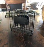 Park Design Black Bear Wire Napkin Holder