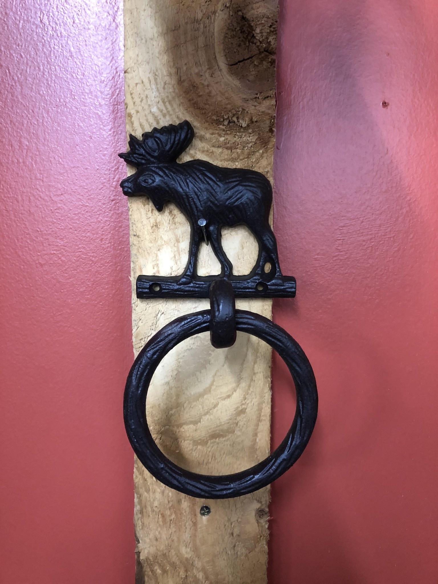 Park Design Moose Towel Ring