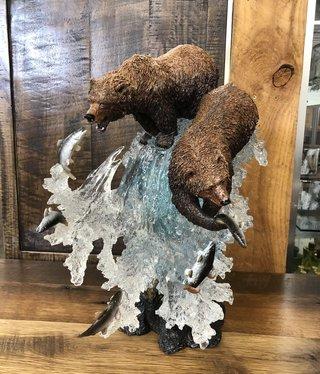 Simpkins-Canterbury Lane Fishing Grizzly Bears - Large