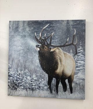 "James Corwin Art ""Emperor of the Woods""  Elk Giclee"