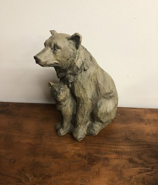 SPI Bear & Cub Desktop Decor