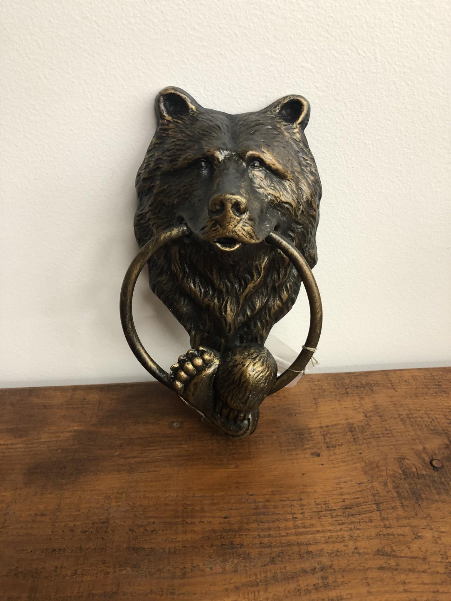 SPI Bear Doorknocker