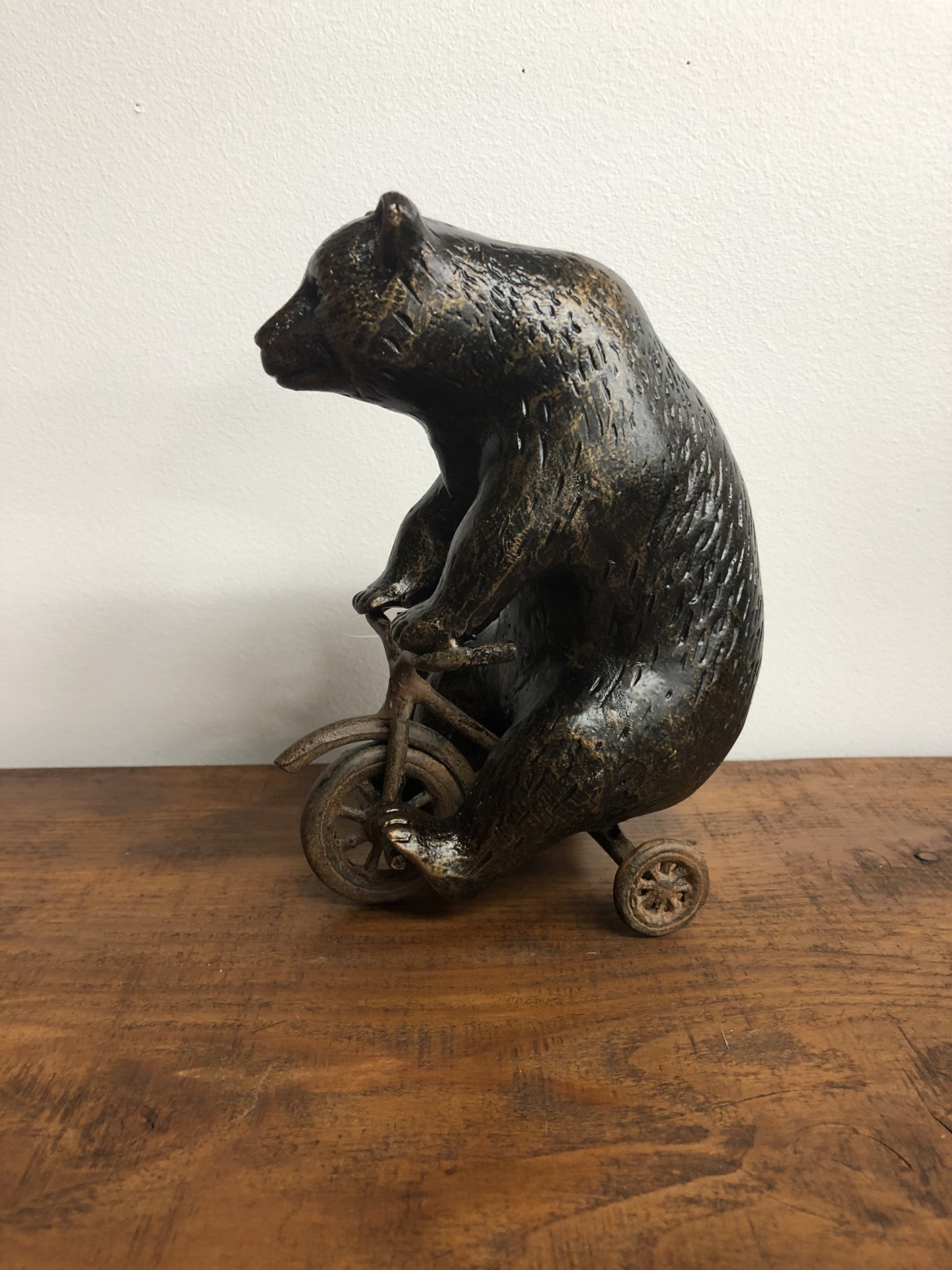 SPI Bear on Trike Paperweight
