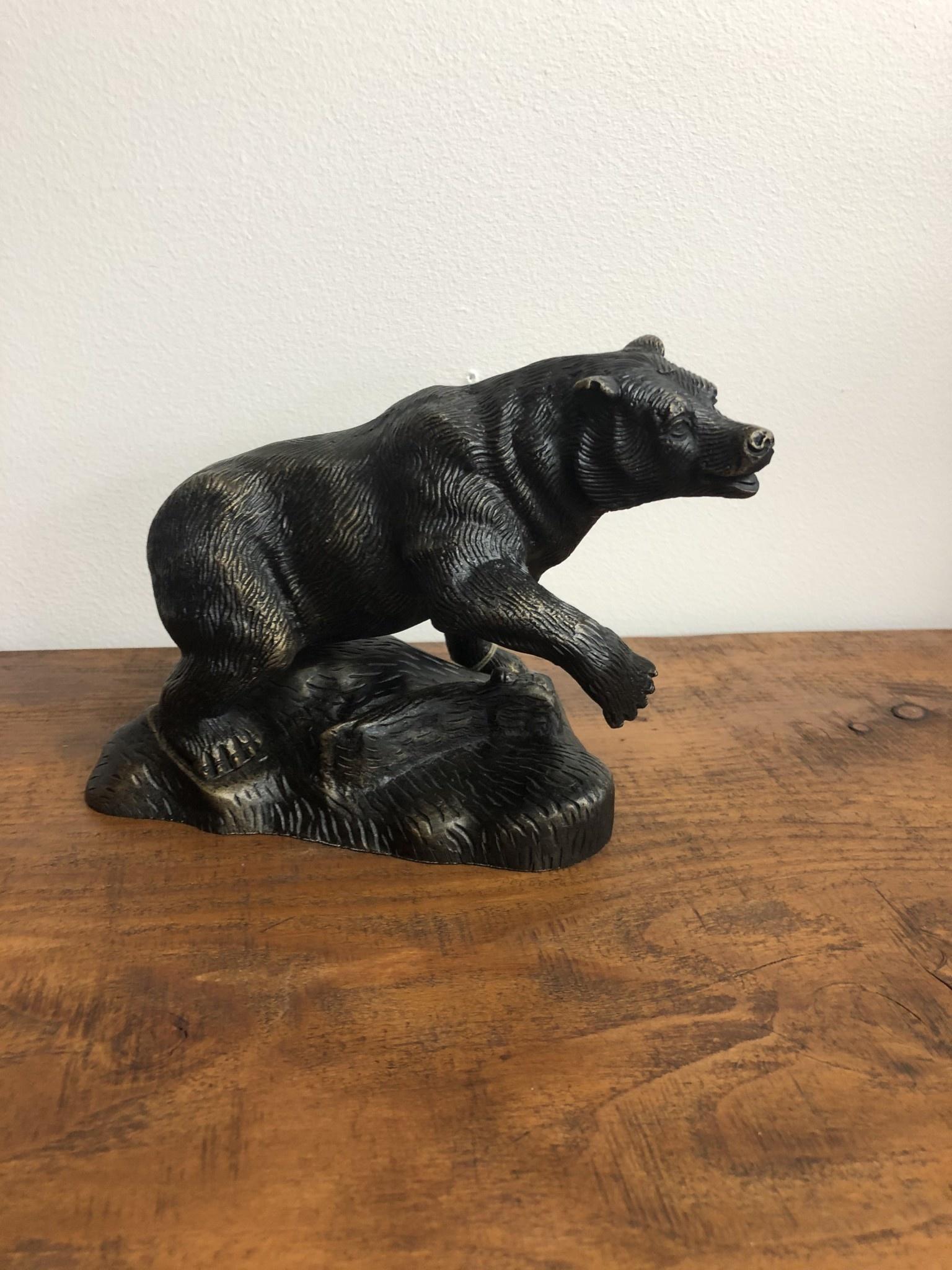 SPI Boss Bruin Sculpture