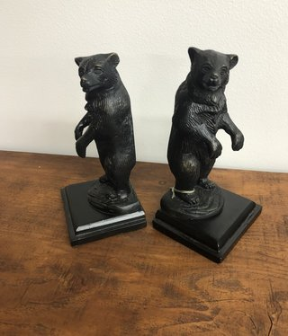 SPI Growling Bear Bookends