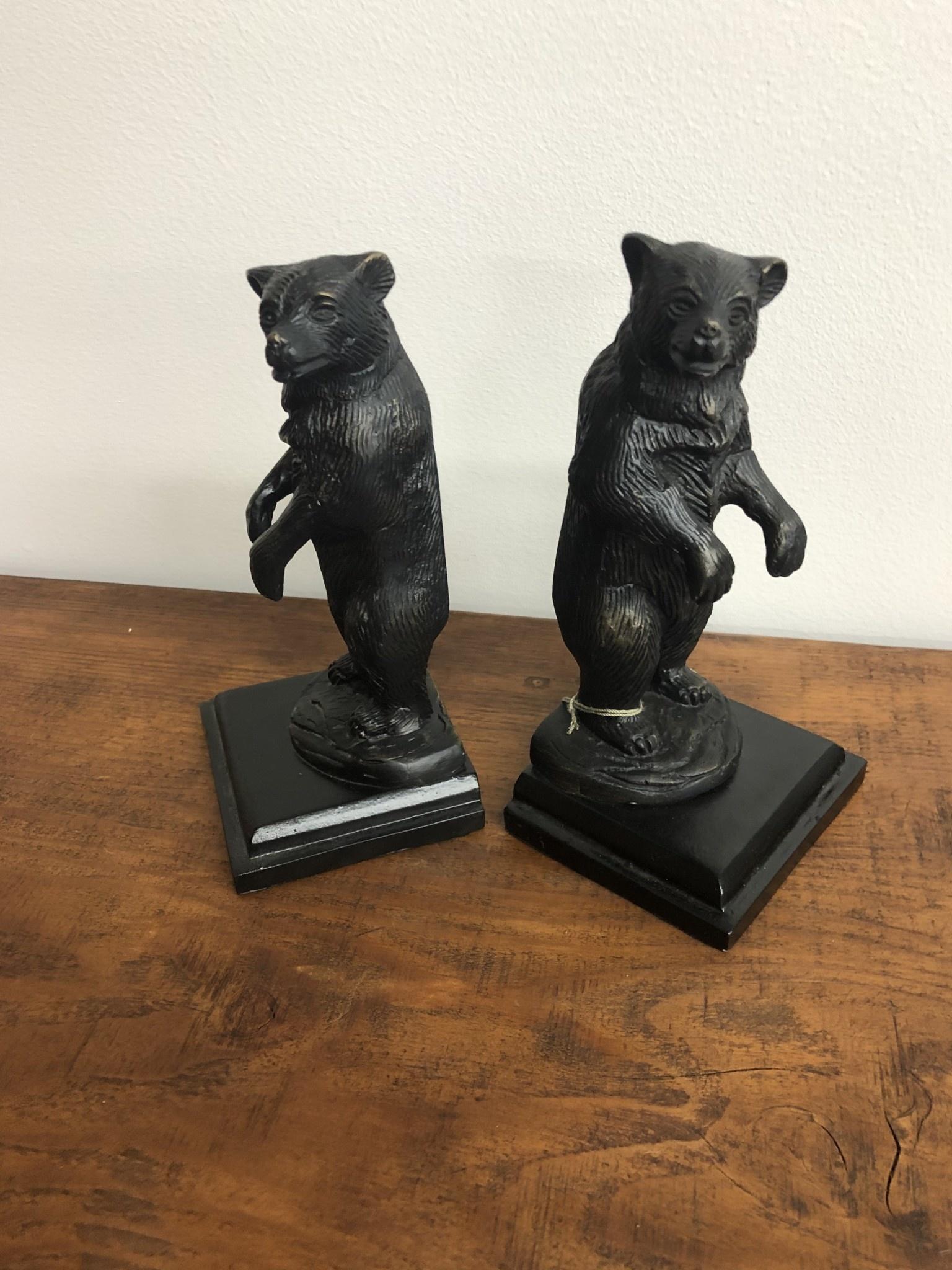SPI Growling Bear Bookends