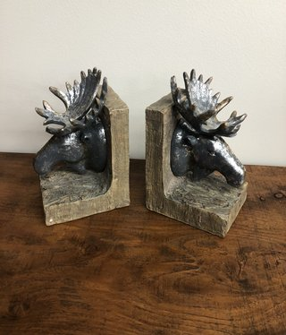 SPI Moose Bookends