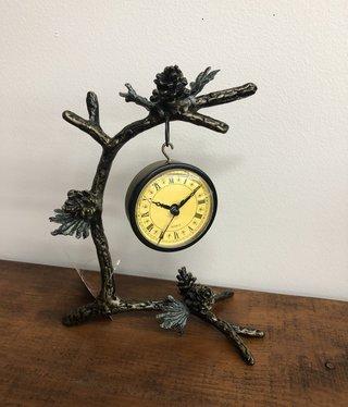 SPI Pinecone & Branch Clock